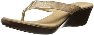 Aerosoles Women's Wide Eyes Wedge Sandal
