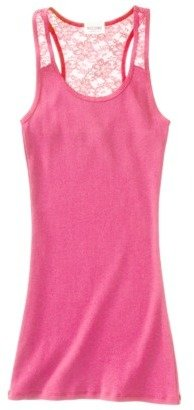 Mossimo Juniors Lack Back Tank - Assorted Colors