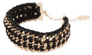Violeta BY MANGO Intertwined Cord Bracelet