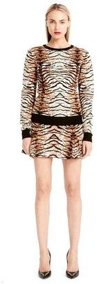 Torn By Ronny Kobo Shauna Sweater Tiger Jacquard