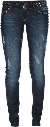Philipp Plein studded skinny jeans