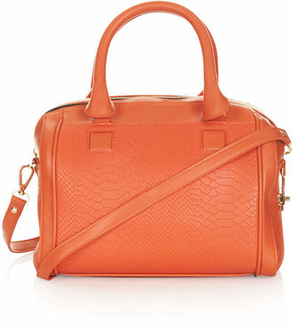 Topshop Double zip holdall