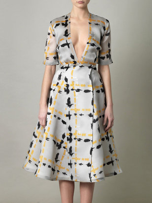 Emilia Wickstead Eady silk dress