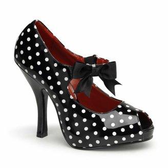 Pleaser USA Women's Cutiepie-07/BW Platform Sandal