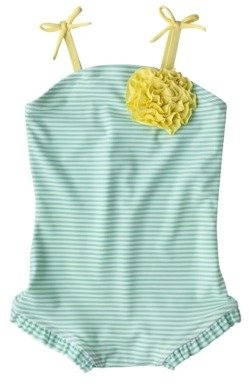 Circo Infant Toddler Girls One Piece Swimsuit
