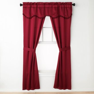 "Burlington United Curtain Co. 5-pc. Window Treatment Set - 52"" x 63"""