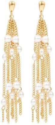 Susan Caplan Vintage 1980s Vintage Dorlan Chandelier Clip-on Earrings