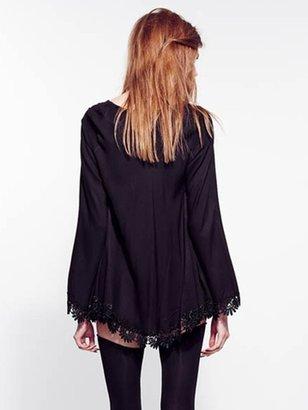 For Love & Lemons For Love & Lemons Angelic Dress In Black