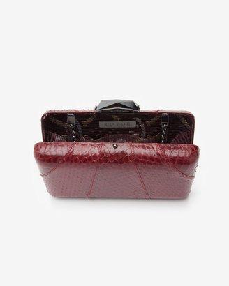Kotur Espey Python Box Clutch