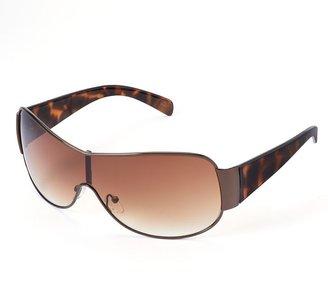 Apt. 9 cannoli tortoise shield sunglasses