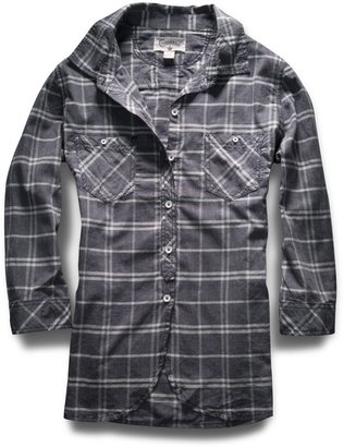 Converse Women's Garment Dye Plaid Shirt