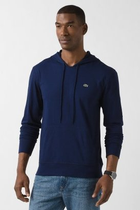 Lacoste Long Sleeve Hooded Jersey T-Shirt