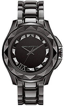 Karl Lagerfeld Classic Gunmetal Analog Watch