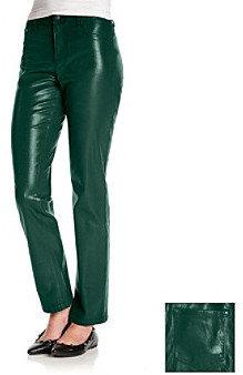 Gloria Vanderbilt Sadie Coated Skinny Denim