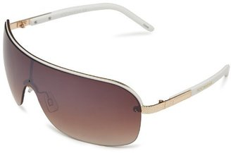 Rocawear R1304 GLDWH Shield Sunglasses