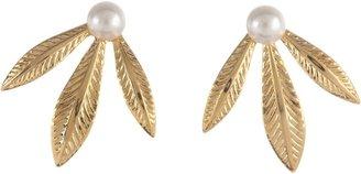 Emily Elizabeth Jewelry - Diana Stud Earrings (14K Gold Plated) - Jewelry