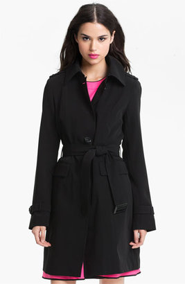 Gallery Club Collar Trench Coat