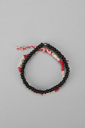 Urban Outfitters Wood & Rope Bracelet - Pack of 2