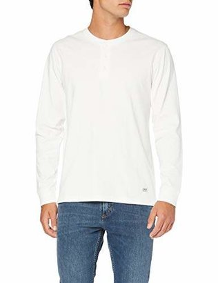 Lee Men's Henley T-Shirt,Large
