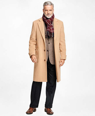 Brooks Brothers Golden Fleece Single-Breasted Polo Coat