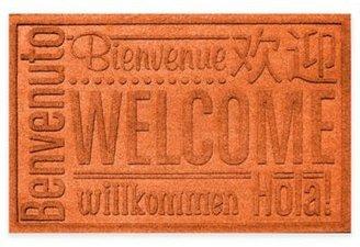 Weather GuardTM 23-Inch x 35-Inch Welcome Door Mat in Orange