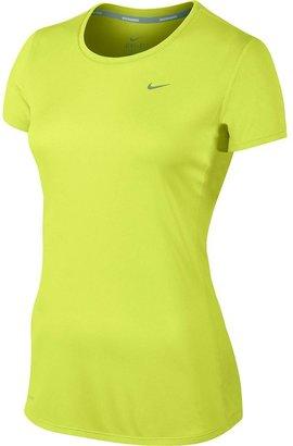 Nike challenger dri-fit mesh running tee - women's