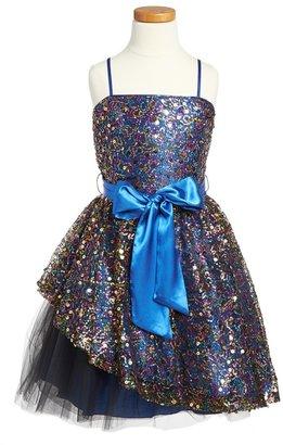 Un Deux Trois Sequin Dress (Big Girls)