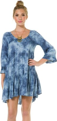 Billabong Indigo Luv Baby Doll Dress