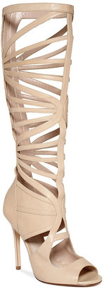 Truth or Dare by Madonna Shoes, Cordera Tall Gladiator Sandals