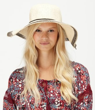 Roxy By The Sea Straw Sun Hat