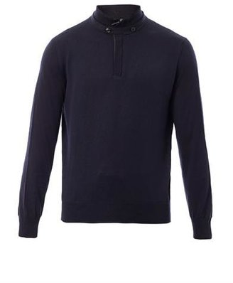 Zegna Wool and cashmere blend sweater