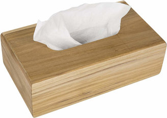 Teak Wood Tissue Box
