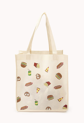 Forever 21 Fast Food Frenzy Shopper Tote