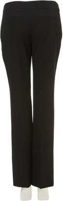 Topshop Black Slim Straight Trousers