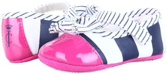 Juicy Couture Ballet Flat (Infant) (Passion Pink) - Footwear