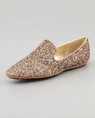 Jimmy Choo Wheel Weekend Glitter Shoe