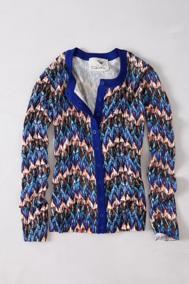 Anthropologie Crimped Frequencies Cardigan