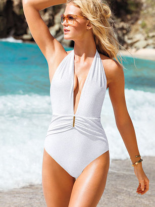 Victoria's Secret Forever Sexy Ruched Shimmer One-piece