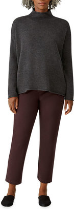 Eileen Fisher Petite Flex Ponte Slouchy Ankle Pants