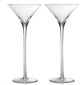 William Yeoward American Bar Lillian Tall Martini Glass, Set of 2