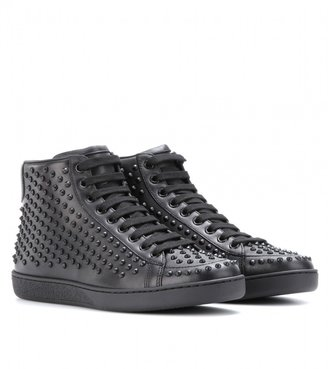 Gucci Studded leather sneakers