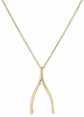 Dean Harris Men's Wishbone Pendant Necklace