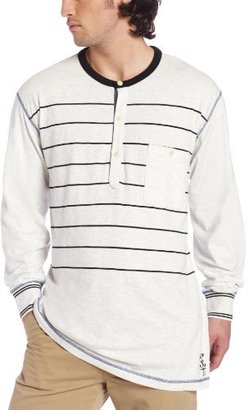 Nautica Men's Big-Tall Long Sleeve Engineered Stripe Henley