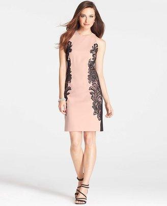 Ann Taylor Petite Lace Halter Dress