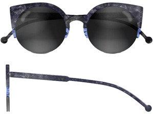 RetroSuperFuture Super Sunglasses Lucia Grey Stone