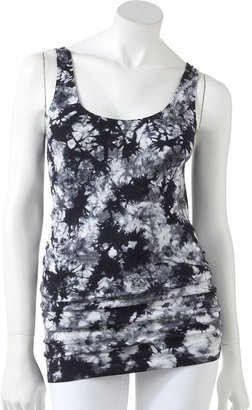 Rock & Republic bleached seamless tank