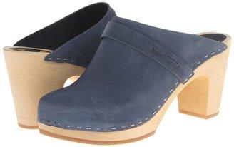 Swedish Hasbeens Slip In (Black) - Footwear