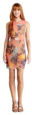 Ali Ro Textured Floral Print Dress