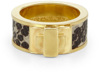 BCBGMAXAZRIA Snake Turn-Lock Ring