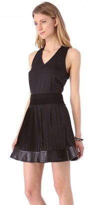 Yigal Azrouel Cut25 by Washed Crepe Dress